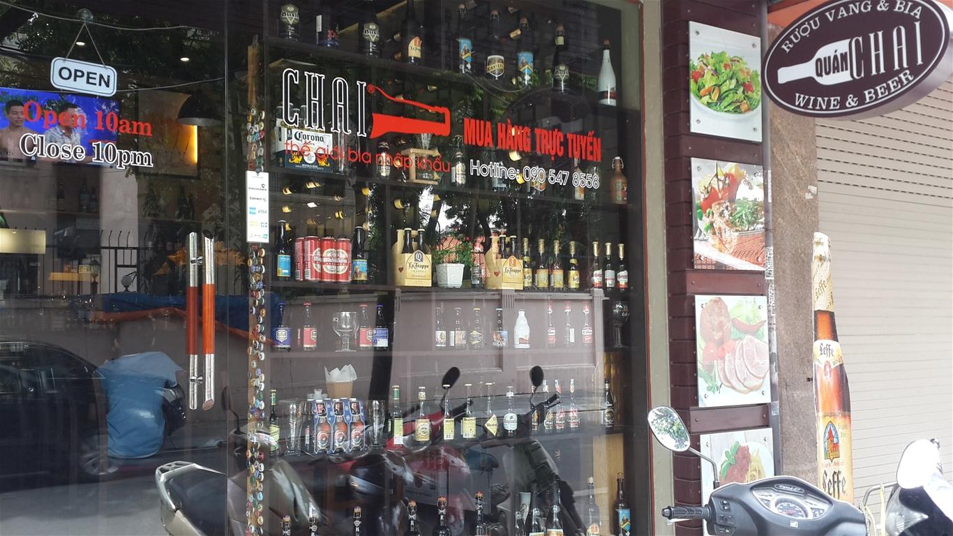 Địa chỉ bán rượu vang uy tín tại Hà Nội