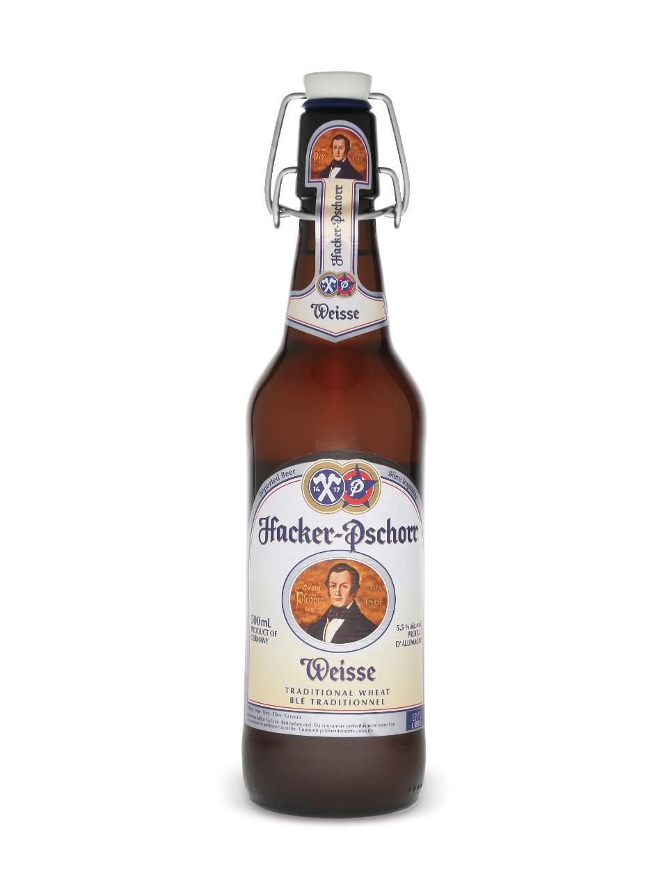 Bán bia nhập khẩu bia Hacker-Pschorr Weisser Paulaner Đức 500ml 5.5%vol