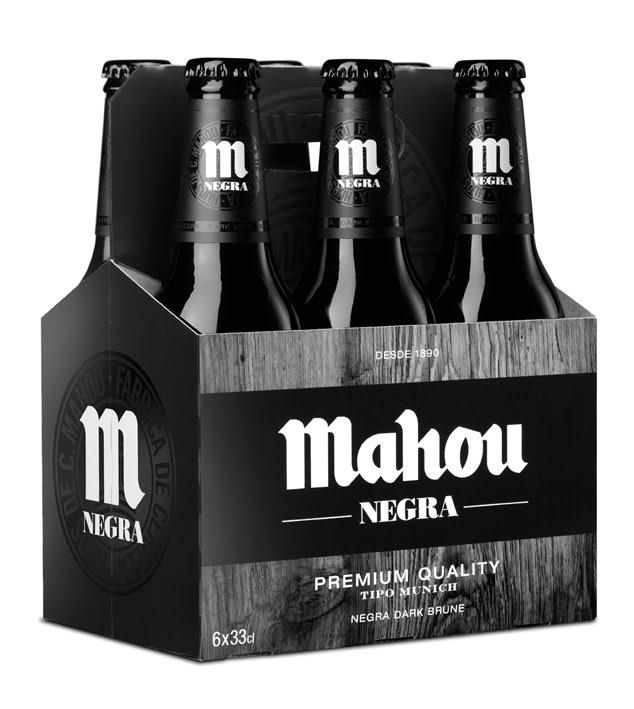 Bia Mahou Negra