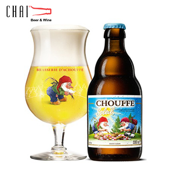 Bia Chouffe Soleil 330ml 6%vol/ Bia Bỉ nhập khẩu