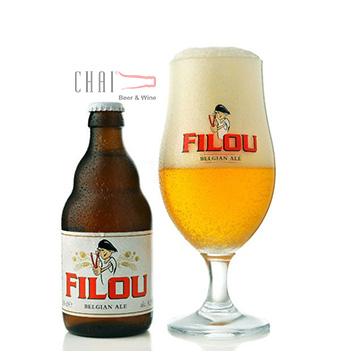 Bia Filou 330ml 8.5%vol/ Bia Bỉ nhập khẩu