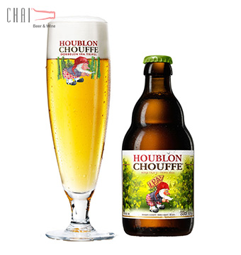 Bia Houblon Chouffe 330ml 9.0%vol/ Bia Bỉ nhập khẩu