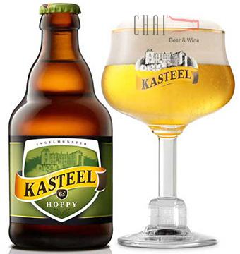 Bia Kasteel Hoppy 330ml 6.5%vol/ Bia Bỉ nhập khẩu