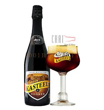 Bia Kasteel Donker 750ml 11%vol/ Bia Bỉ nhập khẩu