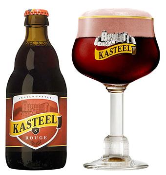 Bia Kasteel Rouge 330ml 8%vol/ Bia Bỉ nhập khẩu