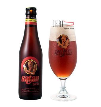 Bia Satan Red 330ml 8%vol/ Bia Bỉ nhập khẩu