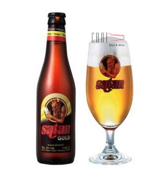 Bia Satan Gold 330ml 8%vol/ Bia Bỉ nhập khẩu