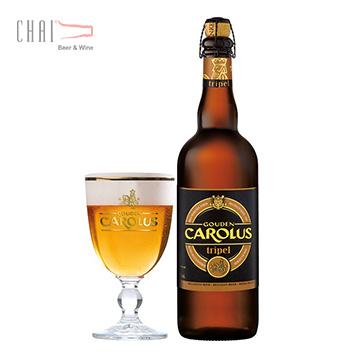 Bia Gouden Carolus Tripel 750ml 9%vol/ Bia Bỉ nhập khẩu
