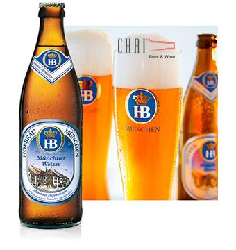 Bia HOFBRÄU Münchner Weisse 500ml 5.1%vol/ Bia Đức nhập khẩu