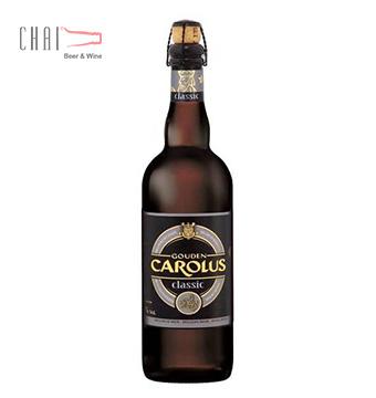 Bia Gouden Carolus Classic 750ml 8.5% vol/ Bia Bỉ nhập khẩu