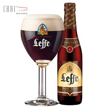 Bia Leffe Brune 330ml 6.3%vol/ Bia Bỉ nhập khẩu