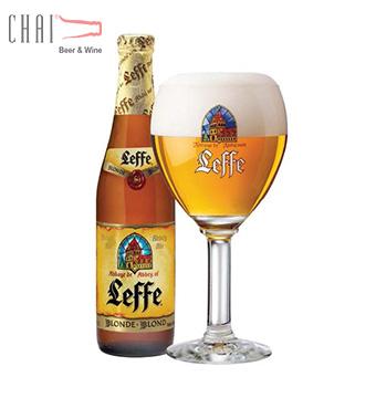 Bia Leffe Blond 330ml 6.6%vol/ Bia Bỉ nhập khẩu