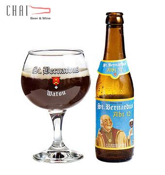 Bia St. Bernardus ABT 12 Bỉ 330ml 10.5 độ/Bia Bỉ nhập khẩu