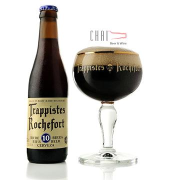 Bia Rochefort 10 Trappistes 11.3%vol/ Bia Bỉ nhập khẩu