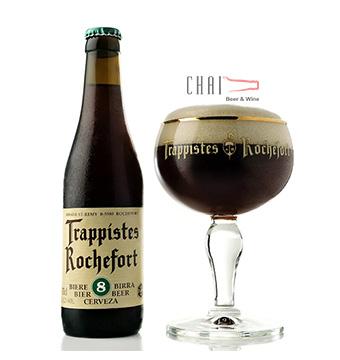 Bia Rochefort 8 Trappistes 330ml 9.2%vol/ bia Bỉ nhập khẩu