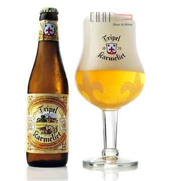 Bia Tripel Karmeliet Tripel 330ml 8.4%vol/ Bia Bỉ nhập khẩu