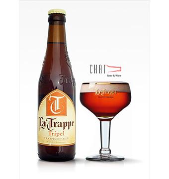 Bia La Trappe Tripel 330ml 8%vol/ Bia Hà Lan nhập khẩu