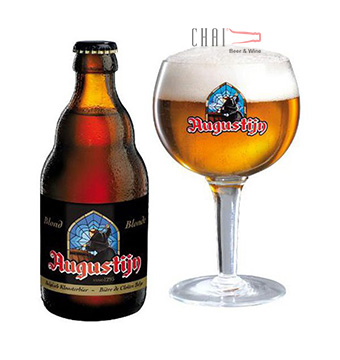 Bia Augustijn Blond Bì 330ml 7%vol/ Bia Bỉ nhập khẩu