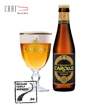 Bia Gouden Carolus Tripel 330ml 9%vol/ Bia Bỉ nhập khẩu