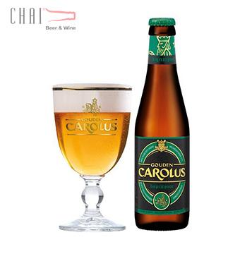 Bia Gouden Carolus Hopsinjoor 330ml 8%vol/ bia Bỉ nhập khẩu