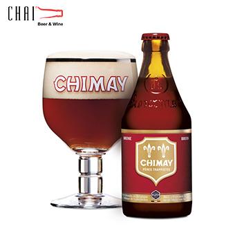 Bia Chimay đỏ 330ml 7%vol/ Bia Bỉ nhập khẩu