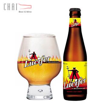 Bia Lucifer Blond 330ml 8%vol/ Bia Bỉ nhập khẩu