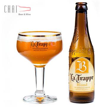 Bia La Trappe Blond 330ml 6.5%vol? Bia Bỉ nhập khẩu
