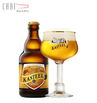 Bia Kasteel Tripel 330ml 11%vol/ Bia Bỉ nhập khẩu