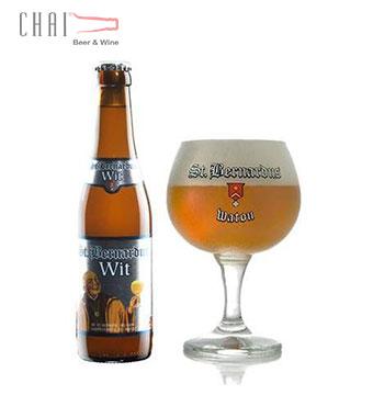 Bia St. Bernardus Wit 330ml 5.5% vol/Bia Bỉ nhập khẩu