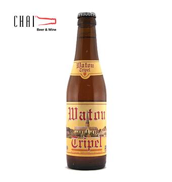 Bia Watou Triple Bỉ 330ml 7.5%vol/ Bia Bỉ nhập khẩu
