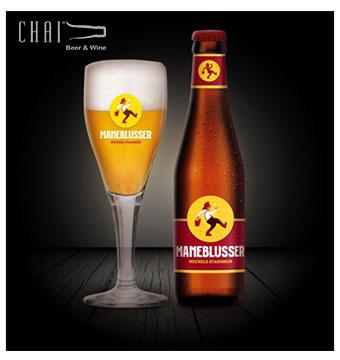 Bán bia nhập khẩu bia Maneblusser Bỉ 330ML 5.5% vol
