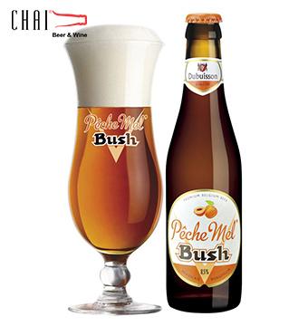 Bia Bush Peche 330ml 8,5%vol/ Bia Bỉ nhập khẩu