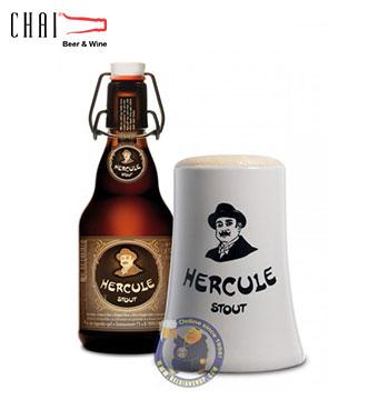 Bia Hercule Stout 330ml 9%vol/ Bia Bỉ nhập khẩu