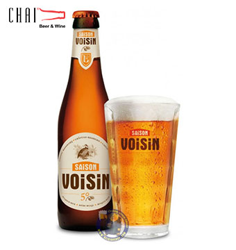 Bia Saison Voisin 330ml 5%vol/ Bia Bỉ nhập khẩu