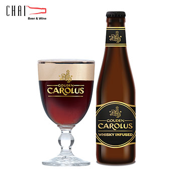 Bia Gouden Carolus Whisky Infused 330ml 11.7%vol/ Bia Bỉ nhập khẩu