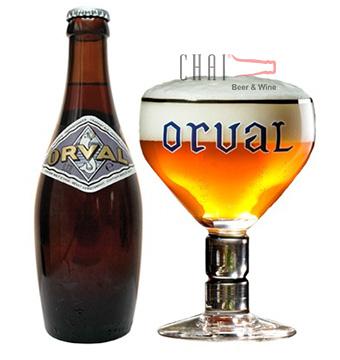Bia ORVAL 330ml 6.2% vol/ Bia Bỉ nhập khẩu