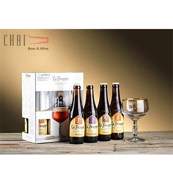 Hộp quà bia La Trappe Hà Lan 330ml/ Bia nhập khẩu Hà Lan