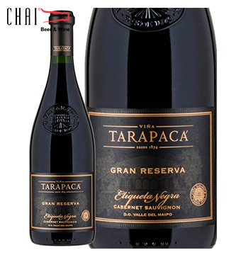 Vang Chile Tarapaca Gran Reserva Cabernet Saugvinon Black Label