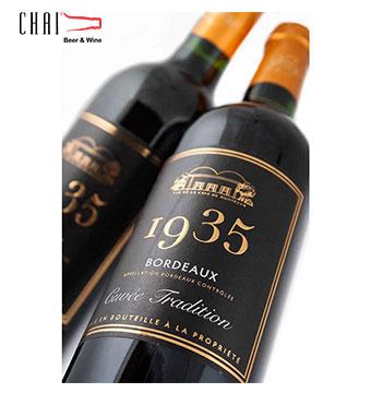 Vang Pháp Bordeaux 1935