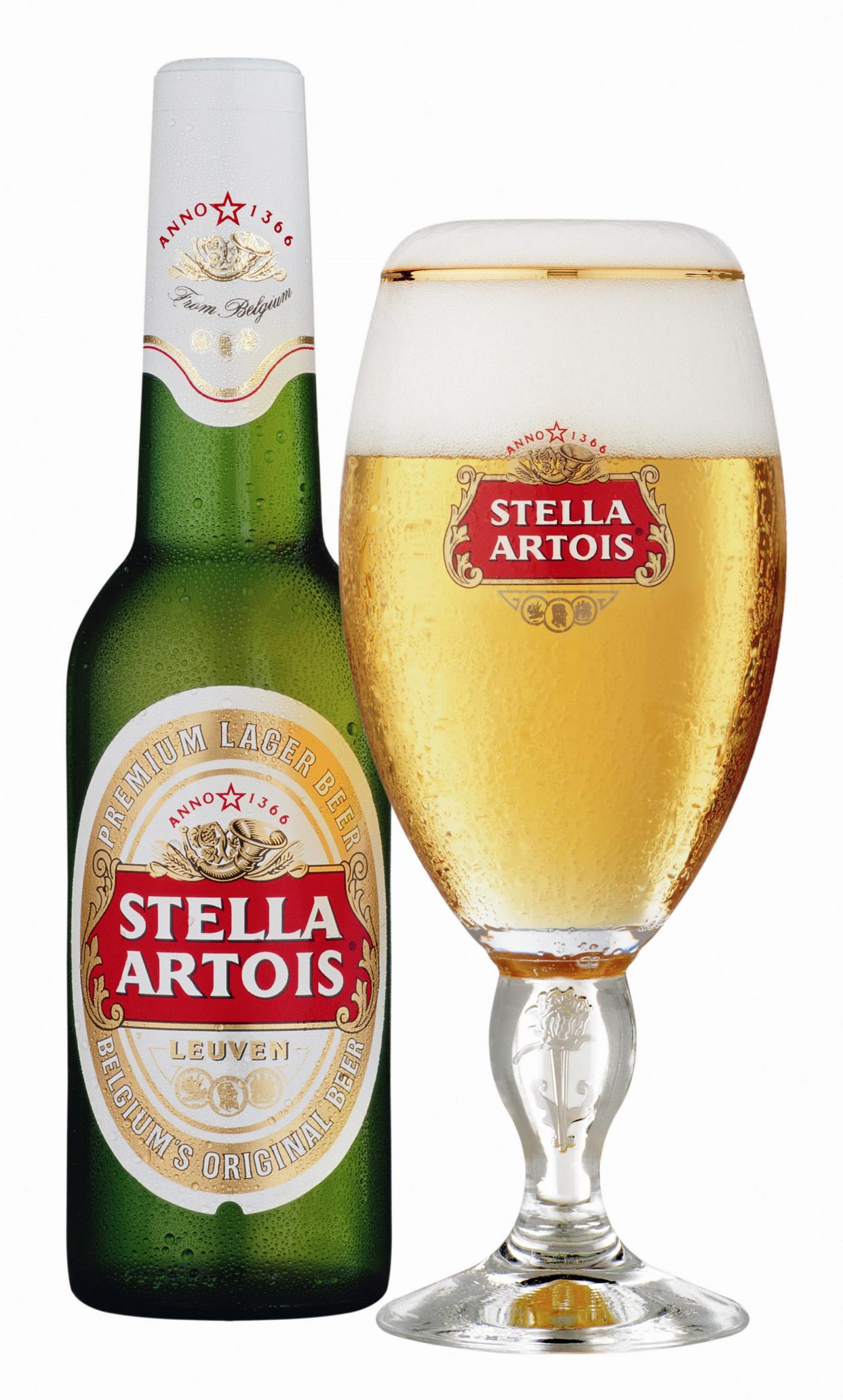 Bán bia nhập khẩu bia Stella Artois Bỉ 330ml 5%vol