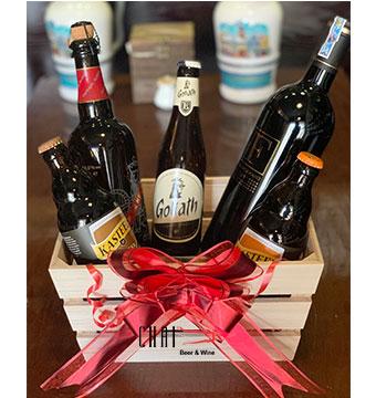 Giỏ quà Tết đặc biệt/ Bia Bỉ nhập khẩu