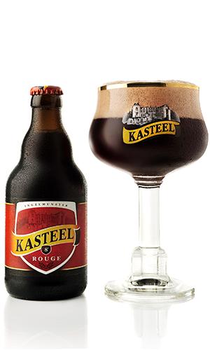 Bán bia nhập khẩu bia Kasteel Rouge Bỉ 330ml 8%vol