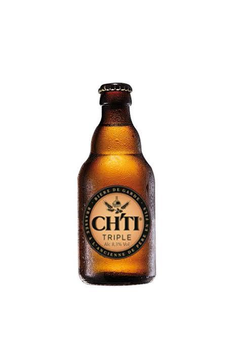 Bán bia nhập khẩu bia CHTI Tripel Pháp 330ml 8.3%vol